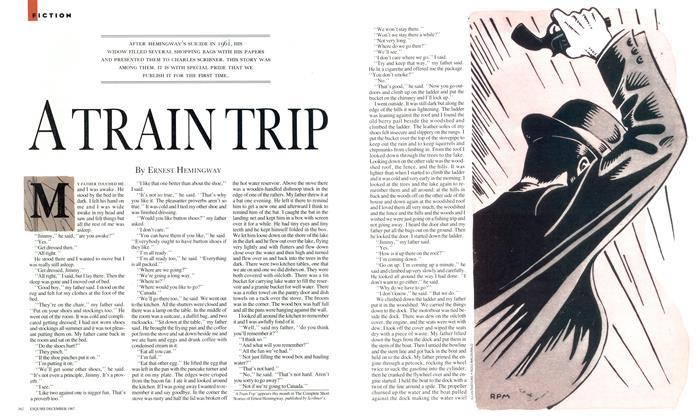 Article Preview: A Train Trip, December 1987 | Esquire
