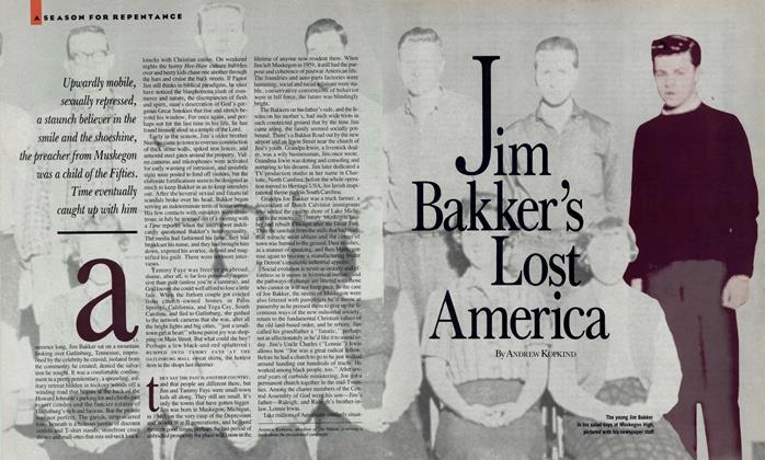 Article Preview: Jim Bakker's Lost America, December 1987 | Esquire