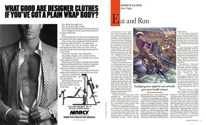 Article Preview: Eat and Run, January 1988 | Esquire
