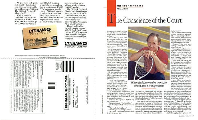 Article Preview: The Conscience of the Court, JANUARY 1988 1988 | Esquire