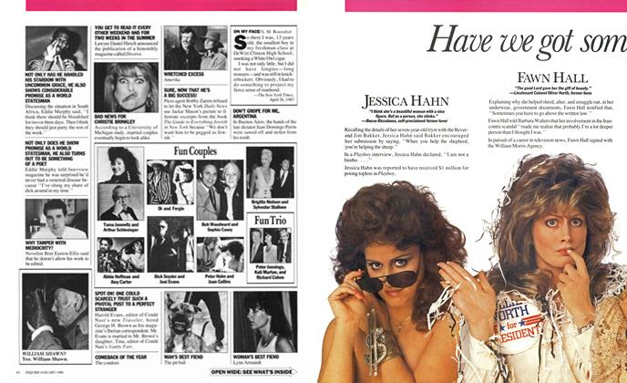 Article Preview: Have We Got Some Girls for You!, JANUARY 1988 1988 | Esquire
