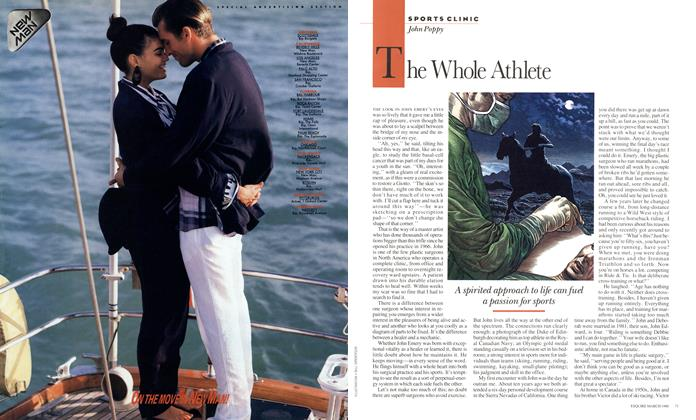 Article Preview: The Whole Athlete, March 1988 | Esquire