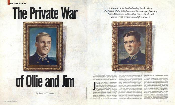 Article Preview: The Private War of Ollie and Jim, March 1988 | Esquire