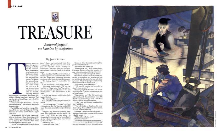 Article Preview: Treasure, March 1988 | Esquire