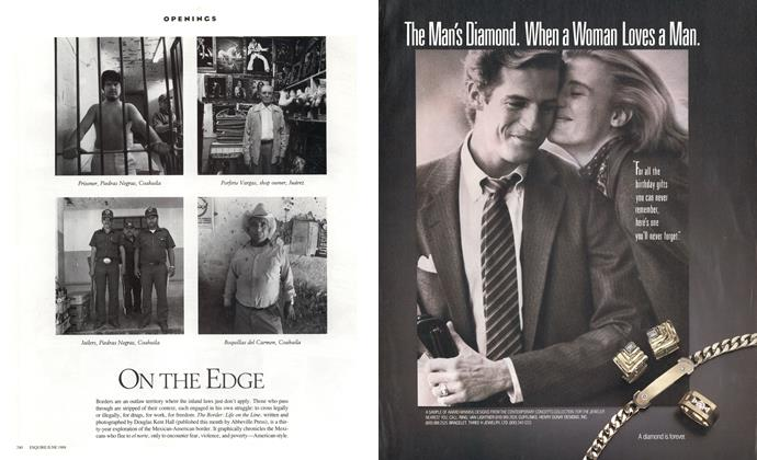 Article Preview: ON THE EDGE, June 1988 1988   Esquire