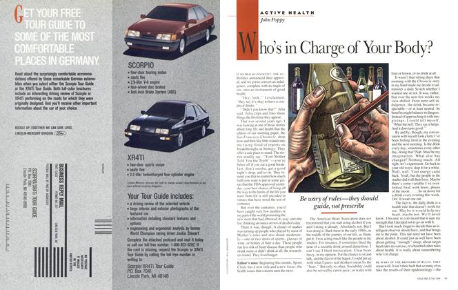 Article Preview: Who's in Charge of Your Body?, June 1988 | Esquire