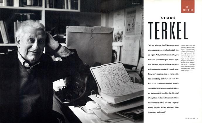 Article Preview: STUDS TERKEL, June 1988 1988 | Esquire