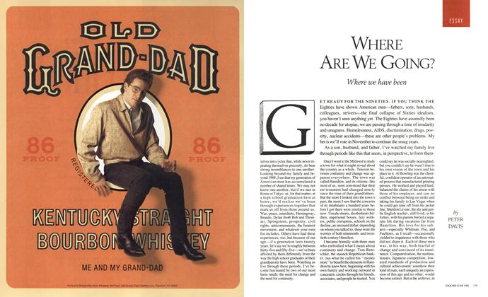 Article Preview: Where Are We Going?, June 1988 1988 | Esquire
