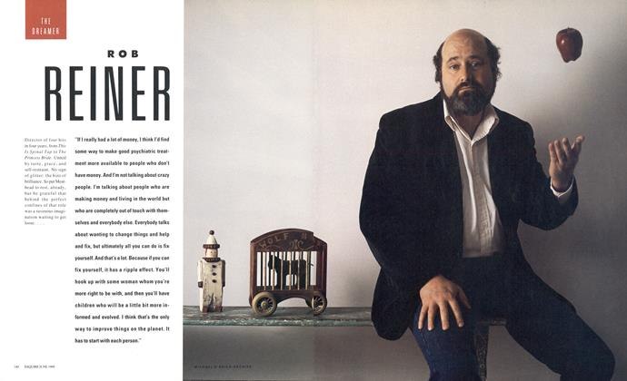 Article Preview: ROB REINER, June 1988 1988   Esquire