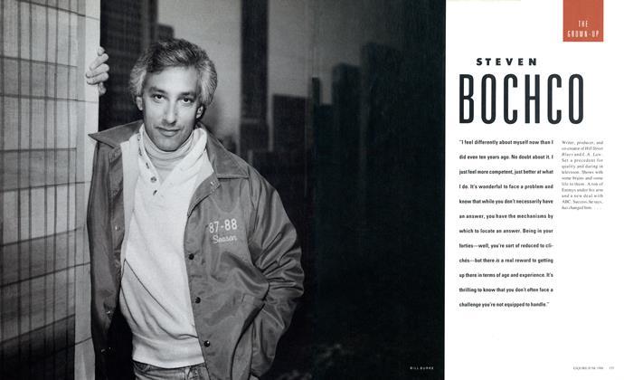 Article Preview: STEVEN BOCHCO, June 1988 1988 | Esquire