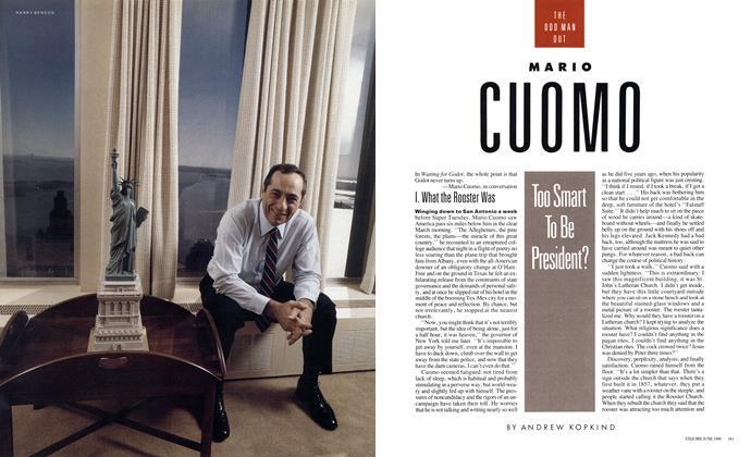 Mario Cuomo: Too Smart To Be President?