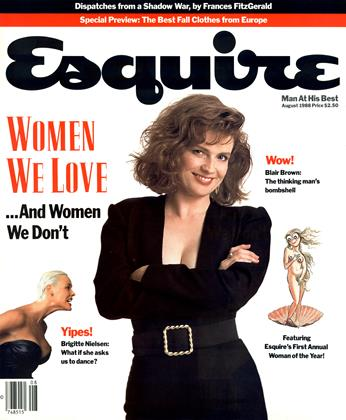 Cover for the August 1988 issue
