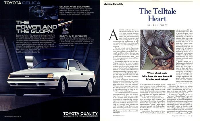 Article Preview: The Telltale Heart, September 1988 1988 | Esquire