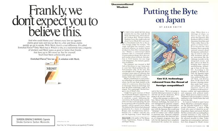 Article Preview: Putting the Byte on Japan, September 1988 | Esquire