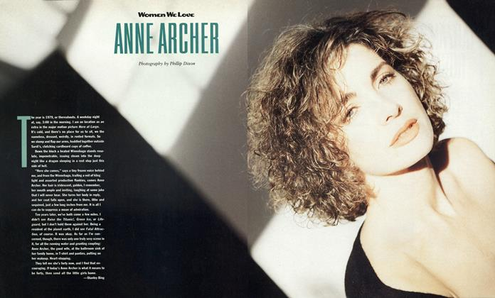 Article Preview: Anne Archer, September 1988 1988 | Esquire