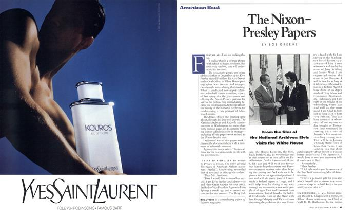 The Nixon-Presley Papers