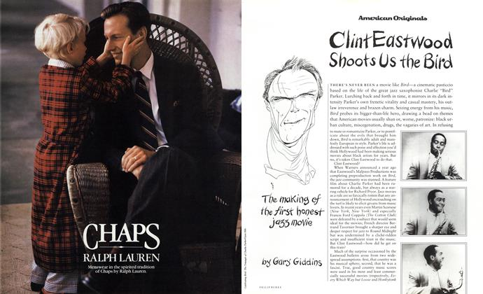 Article Preview: Clint Eastwood Shoots Us the Bird, October 1988 1988 | Esquire