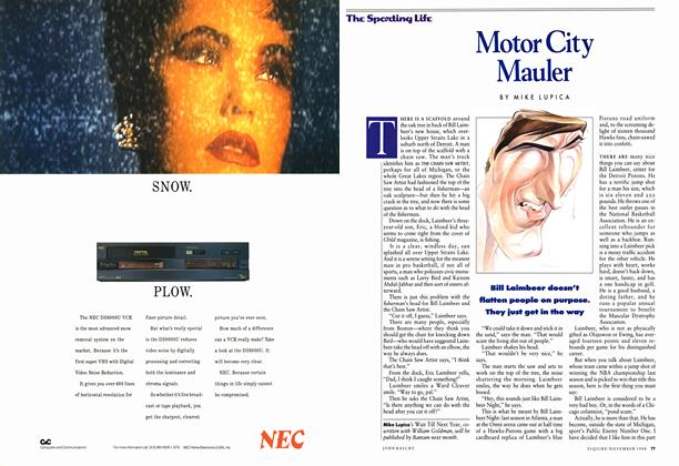 Article Preview: Motor City Mauler, November 1988 | Esquire