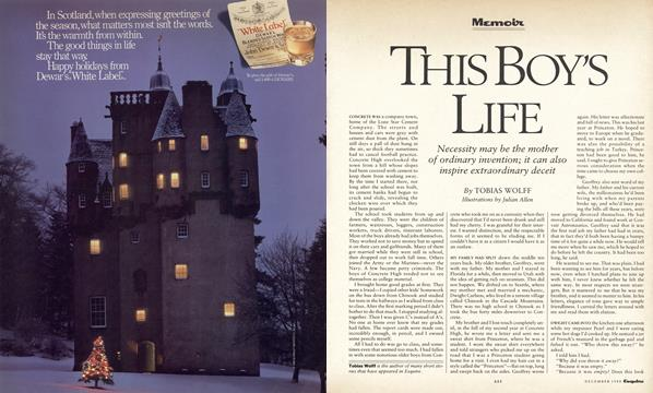 This Boy's Life - December | Esquire