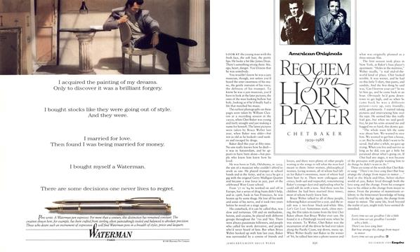 Requiem for a Horn Player - December | Esquire