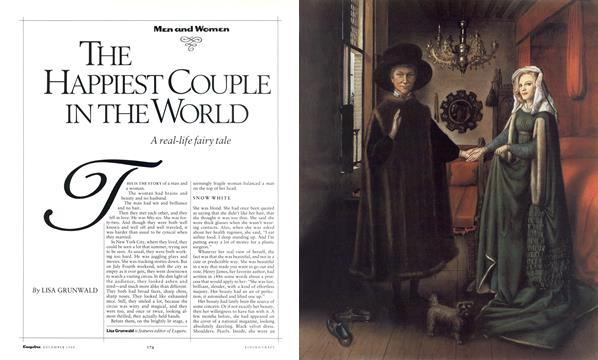 The Happiest Couple in the World - December | Esquire