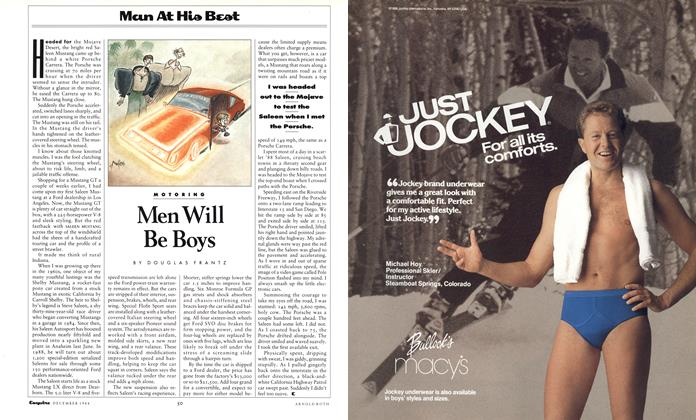 Article Preview: Men Will Be Boys, December 1988 1988 | Esquire
