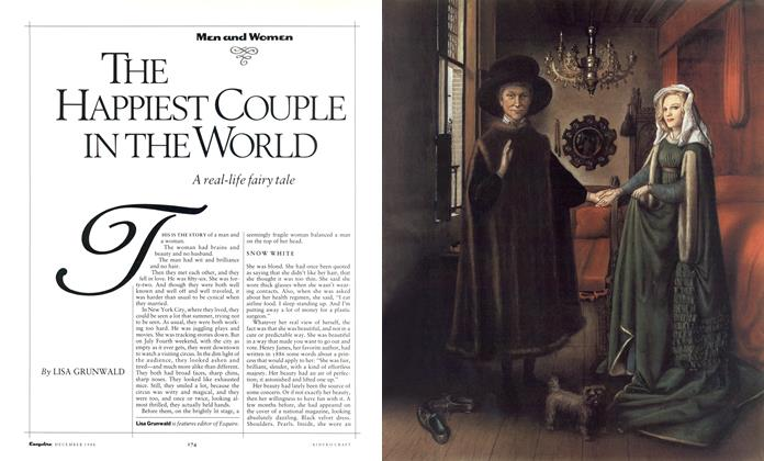 Article Preview: The Happiest Couple in the World, December 1988 1988 | Esquire