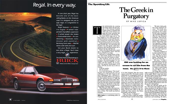Article Preview: The Greek in Purgatory, January 1989 | Esquire