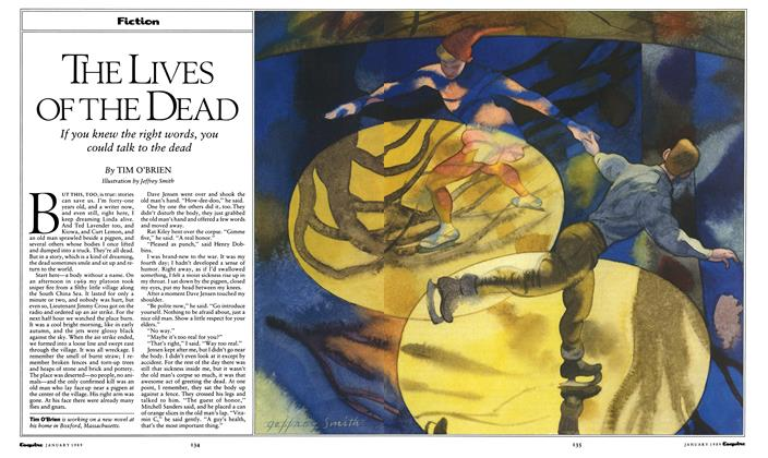 Article Preview: The Lives of the Dead, January 1989 | Esquire