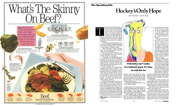 Article Preview: Hockey's Only Hope, February 1989 1989 | Esquire