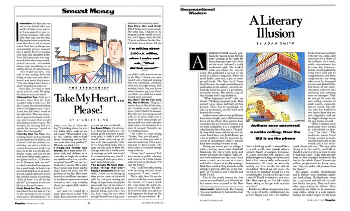 Article Preview: A Literary Illusion, February 1989 | Esquire