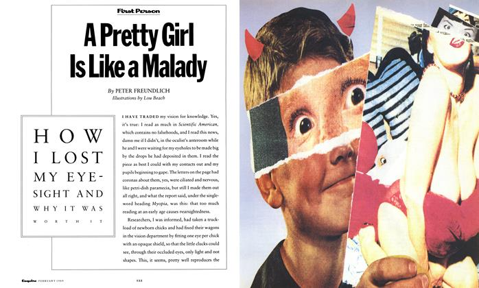 Article Preview: A Pretty Girl Is Like a Malady, February 1989 | Esquire