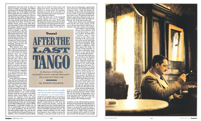 Article Preview: After the Last Tango, February 1989 1989 | Esquire