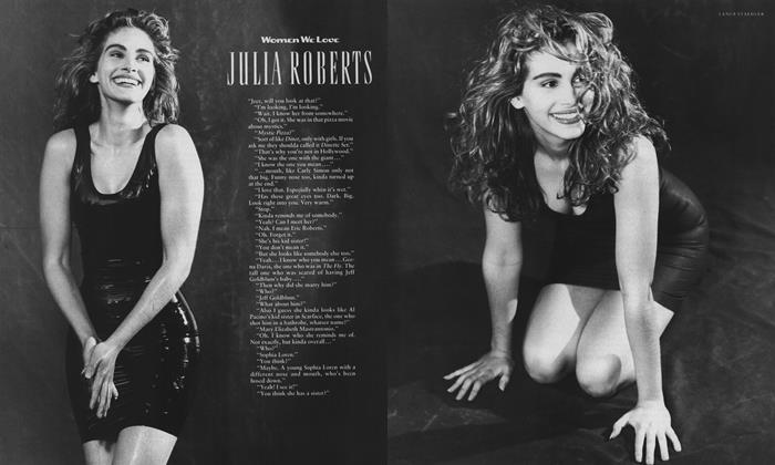 Article Preview: Julia Roberts, March 1989 1989 | Esquire