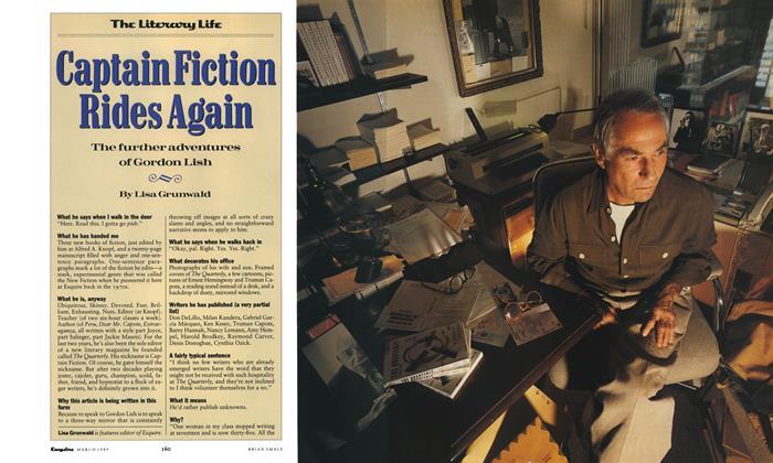Article Preview: Captain Fiction Rides Again, March 1989 1989 | Esquire