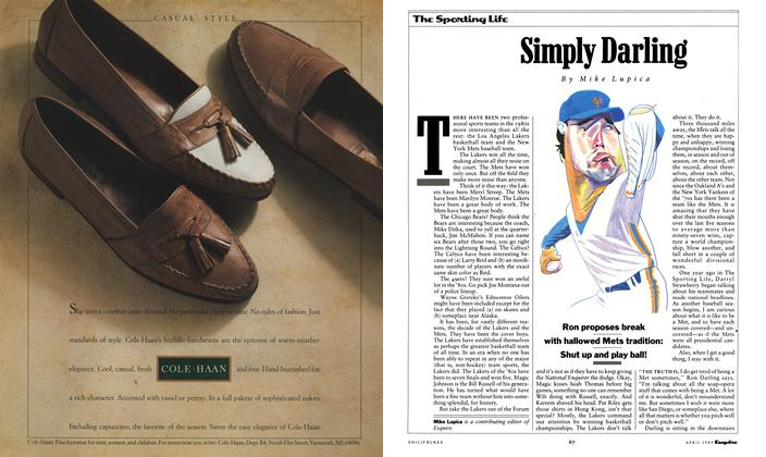 Article Preview: Simply Darling, APRIL 1989 1989 | Esquire