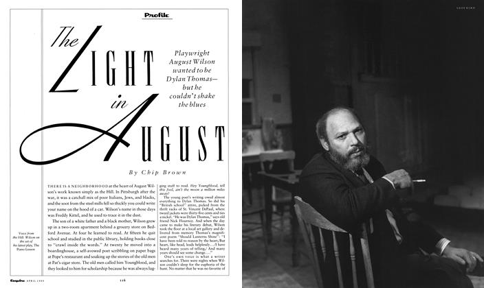 Article Preview: The Light in August, April 1989 | Esquire