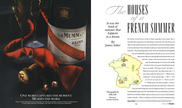 Article Preview: The Houses of a French Summer, APRIL 1989 1989 | Esquire