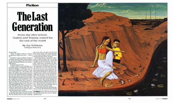 Article Preview: The Last Generation, April 1989 | Esquire