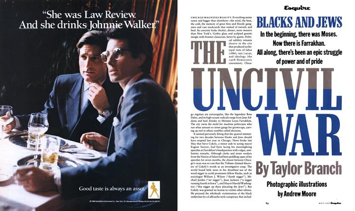 Article Preview: The Uncivil War, May 1989 1989 | Esquire