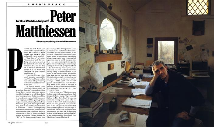 In the Workshop of Peter Matthiessen