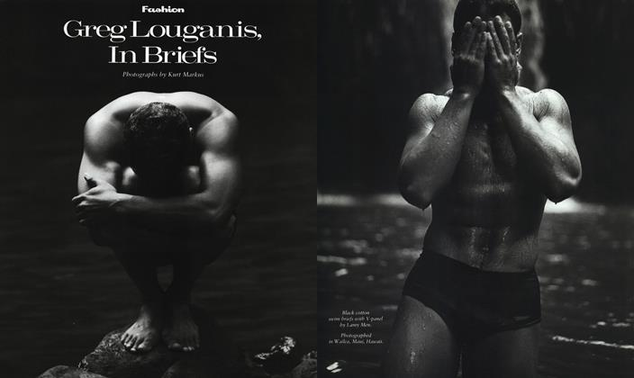 Article Preview: Greg Louganis, in Briefs, June 1989 1989 | Esquire