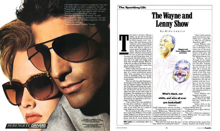 Article Preview: The Wayne and Lenny Show, June 1989 1989 | Esquire