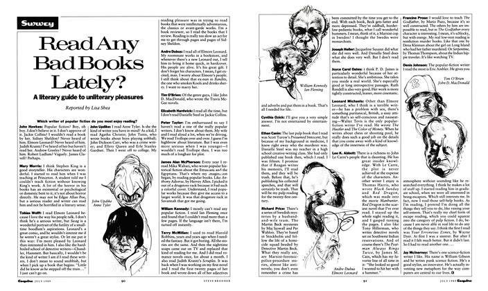 Article Preview: Read Any Bad Books Lately?, July 1989 1989   Esquire