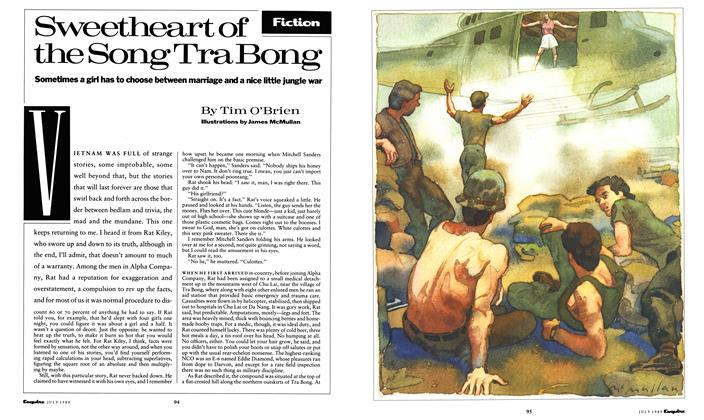 Article Preview: Sweetheart of the Song Tra Bong, July 1989 | Esquire