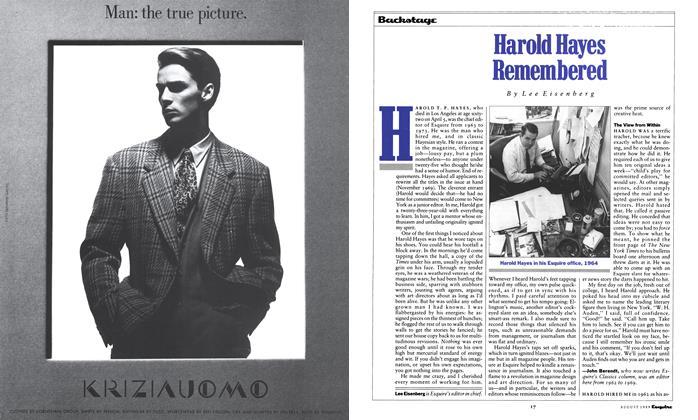Harold Hayes Remembered