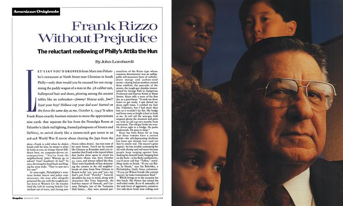 Article Preview: Frank Rizzo Without Prejudice, August 1989 | Esquire