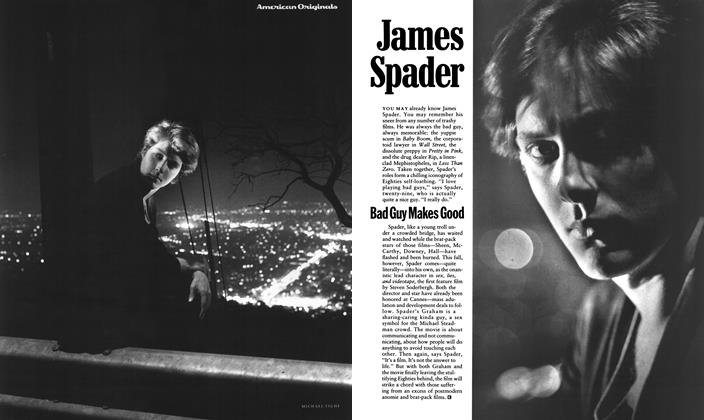 Article Preview: James Spader Bad Guy Makes Good, September 1989 1989 | Esquire