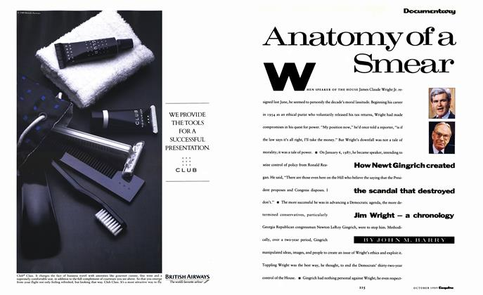 Article Preview: Anatomy of a Smear, October 1989 | Esquire