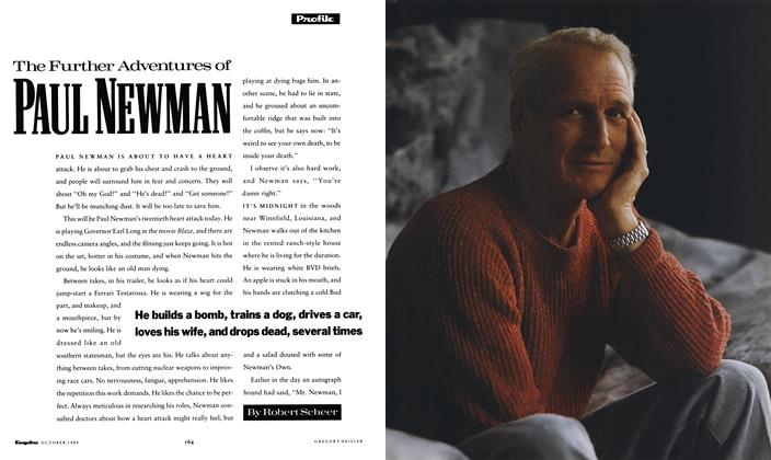 Article Preview: The Further Adventures of Paul Newman, October 1989 1989 | Esquire